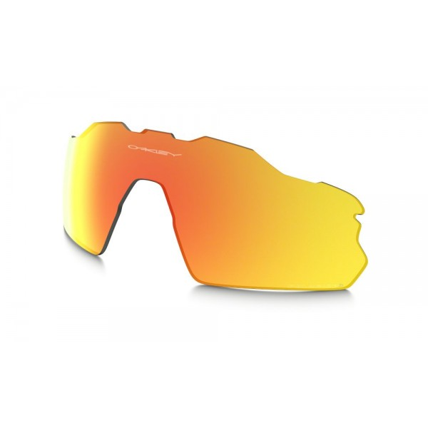 5e9e12bc08 Oakley Radar EV Pitch Fire Iridium Polarized Replacement Lens