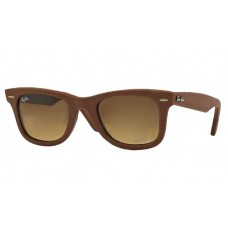 Ray Ban RB2140QM Wayfarer Leather