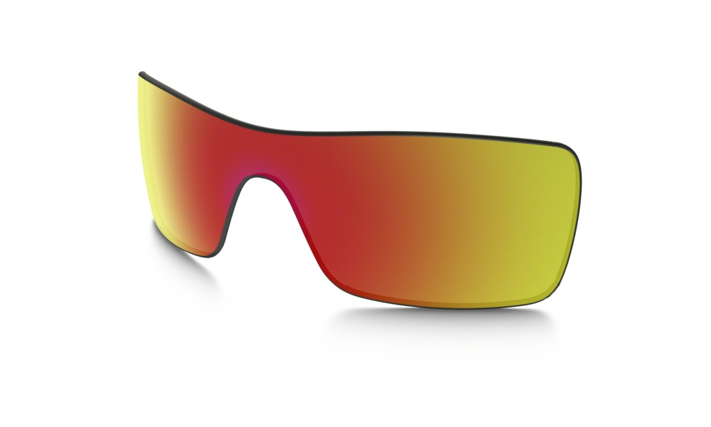 new oakley lenses nw9b  Oakley Batwolf Ruby Iridium