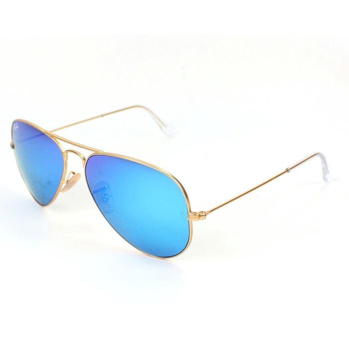 lunette de soleil ray ban verre bleu